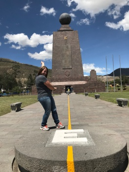 Equator In Ecuador 2018